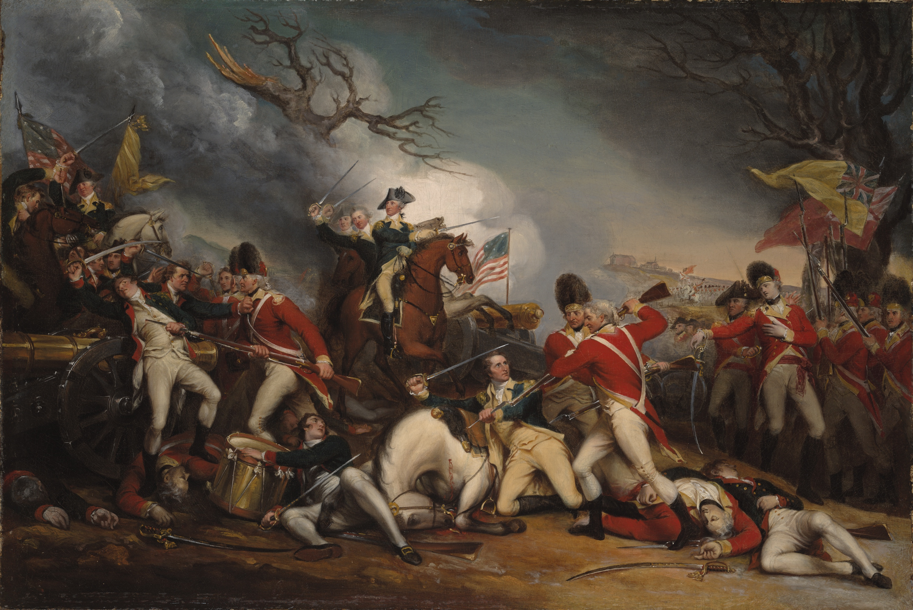 The Death of General Mercer at the Battle of Princeton  January 3     The Death of General Mercer at the Battle of Princeton  January 3  1777