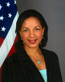 Susan Rice, US Ambassador to the UN.