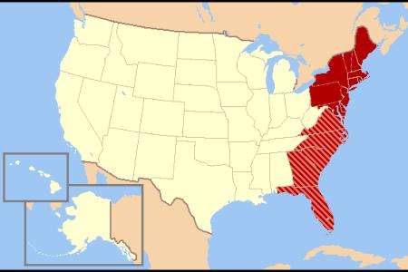 east coast of the united states simple english wikipedia