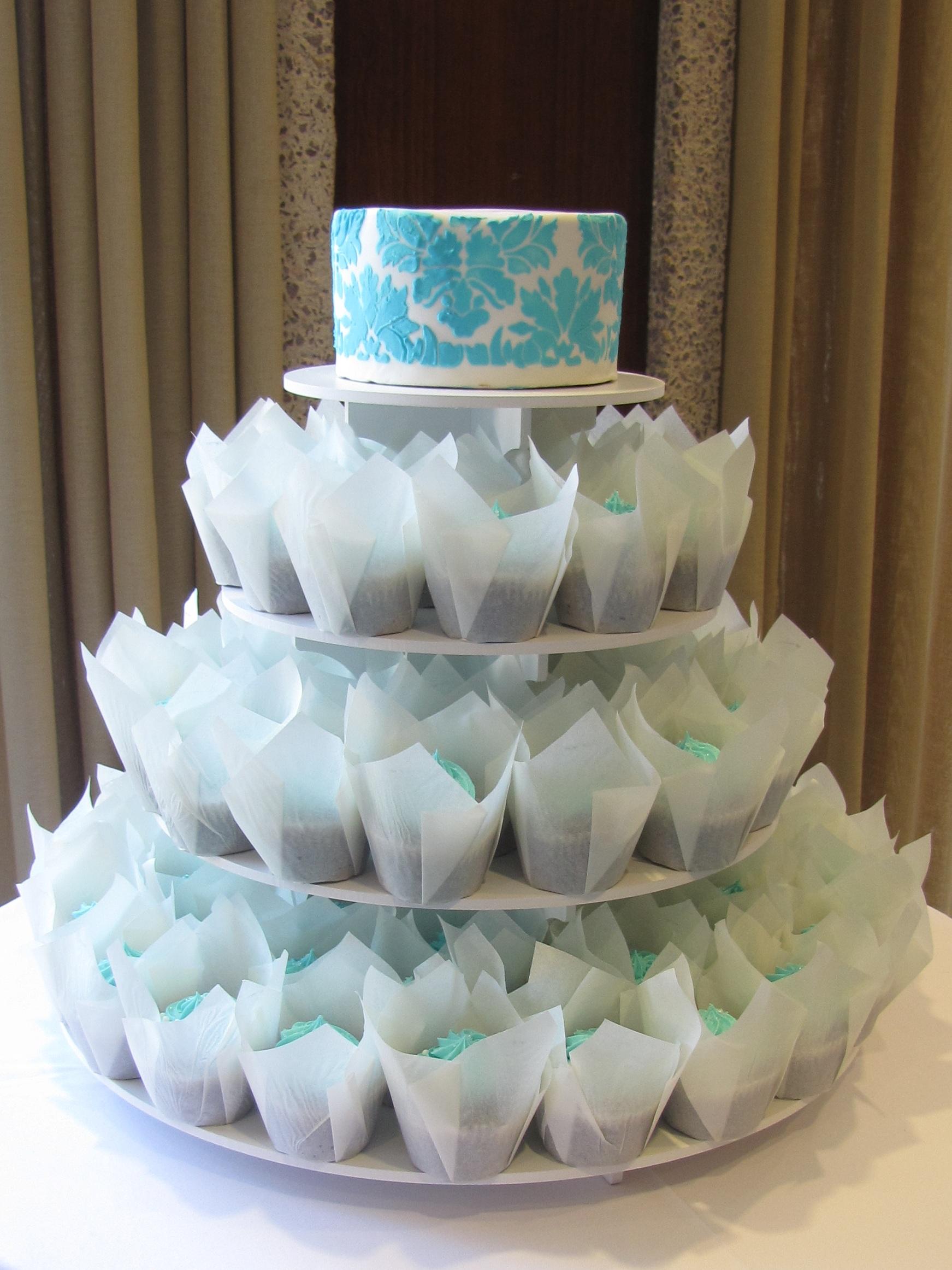 File:Tiffany Blue Wedding Cupcakes () tiffany blue wedding File Tiffany Blue Wedding Cupcakes