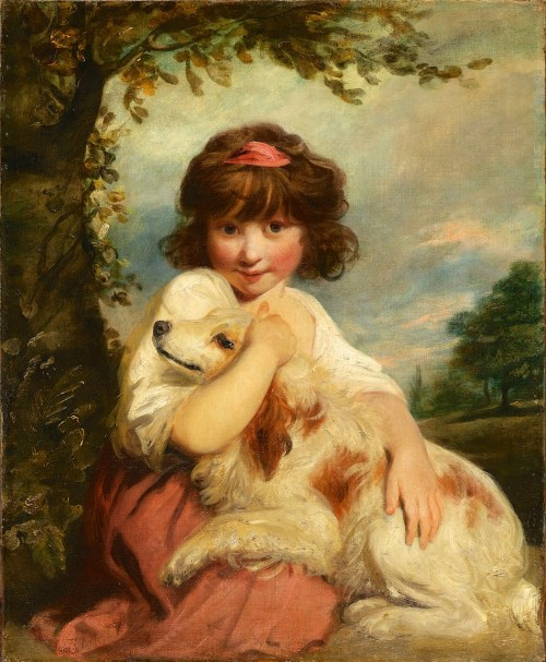 Medium Of A Girl And Her Dog