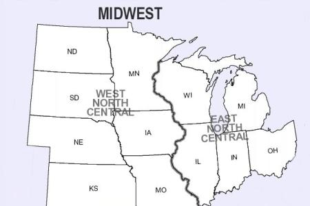 us midwest region map | galleryhip.com the hippest