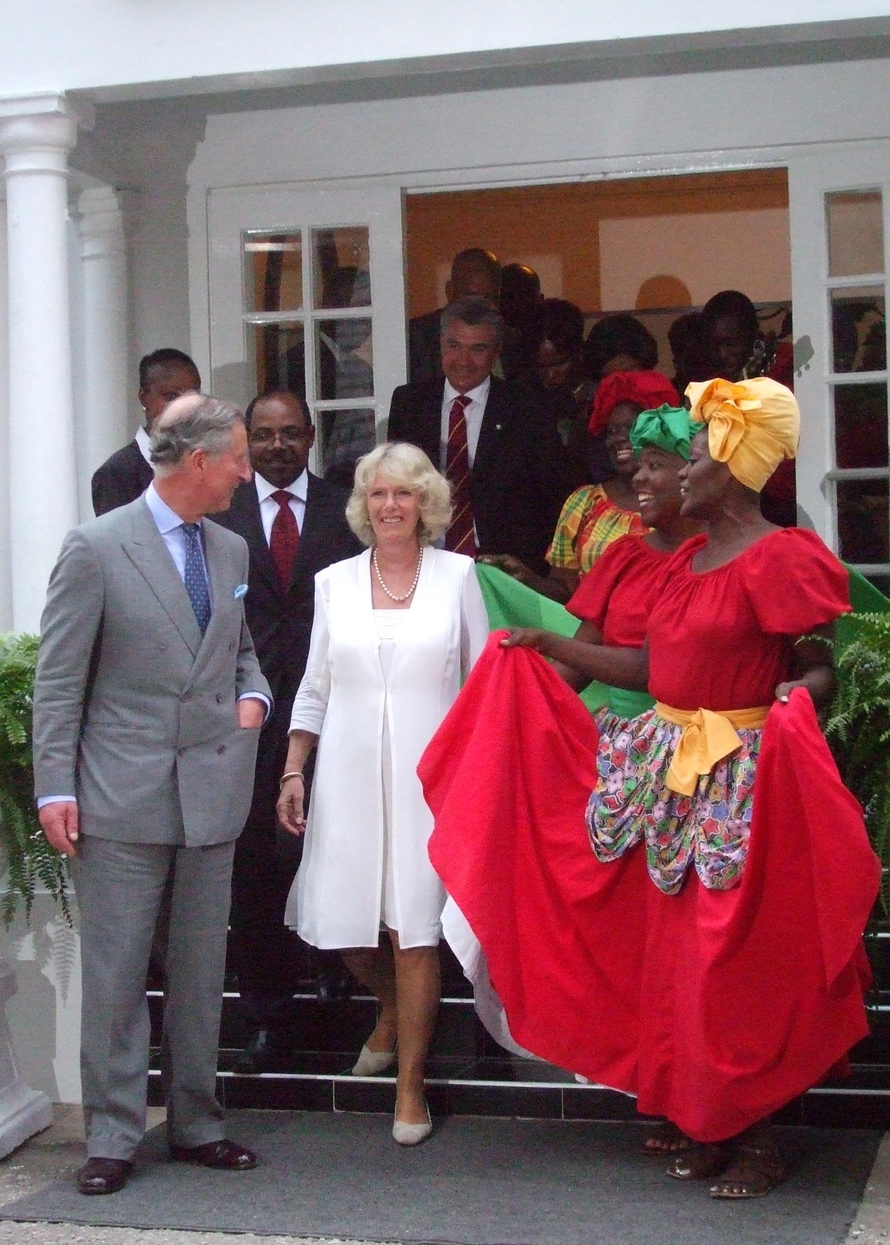 Quadrille dress jamaican wedding dresses