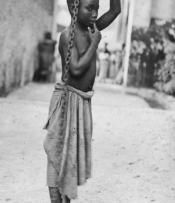 Slave boy in Zanzibar