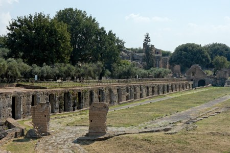 cento camerelle villa adriana