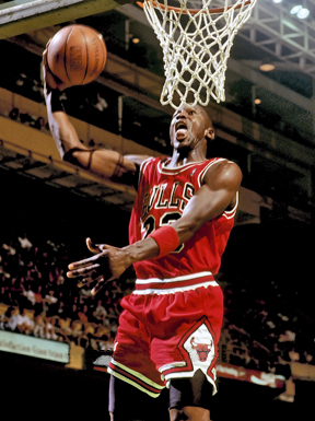 English: Former basketball player Michael Jordan