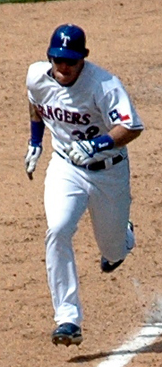 Josh Hamilton of the Texas Rangers Cropped