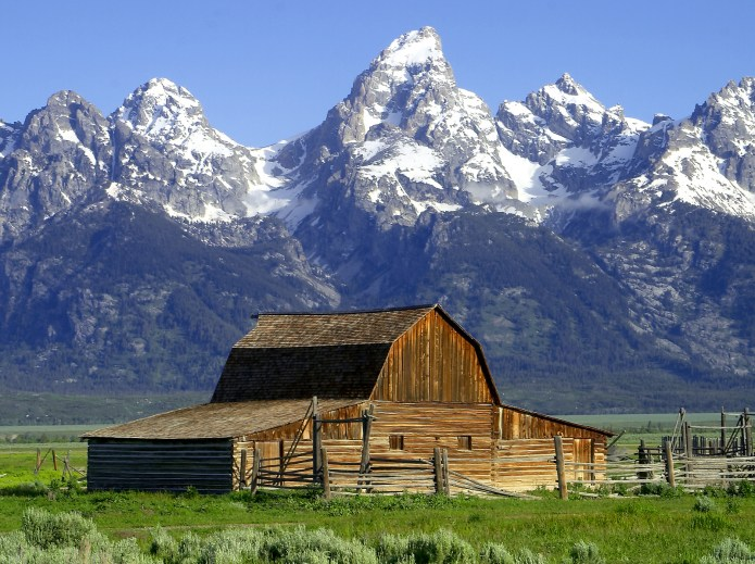 Grand Tetons Barns The John Moulton B...