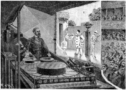 Emile Reynaud's Teater Optique