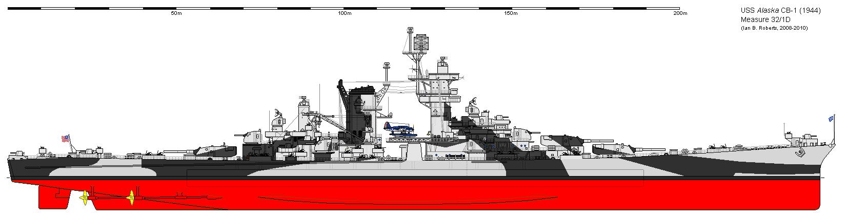 image of Uss Alaska Vs Scharnhorst 01