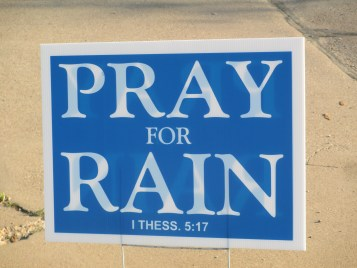 Pray for Rain - 1 Thessalonians 5:17