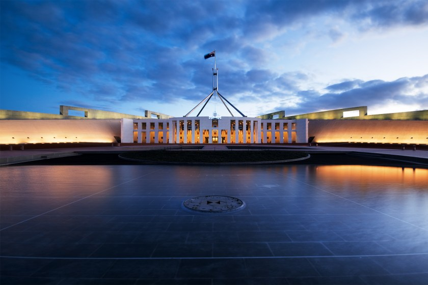 Picture of Parliament House, Canberra, Australia
