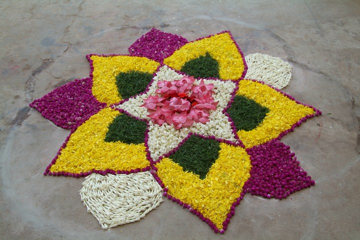 Rangoli Designs.6 Happy New Year Rangoli Designs 2014