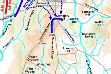 gettysburg battle map day1 gettysburg 327afba5a2742a9939b350cdd4569e66 gettysburg battlefield civil wars gettysburg map google maps