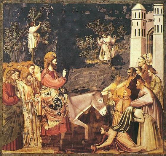 Giotto - Scrovegni - -26- - Entry into Jerusalem2.jpg