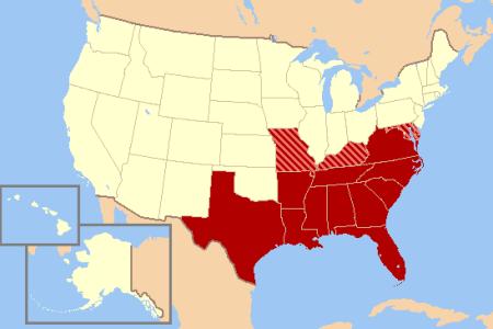 file southern united states civil war map wikimedia