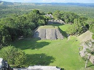 Deutsch: Aussicht von El Castillo ( A6)