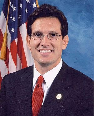 Representative Eric Cantor of Virginia