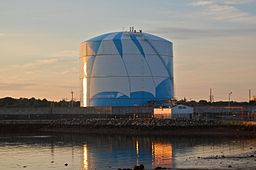 National Grid LNG Tank