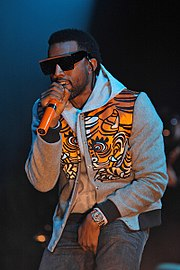 Kanye West   Wikipedia West performing in 2008