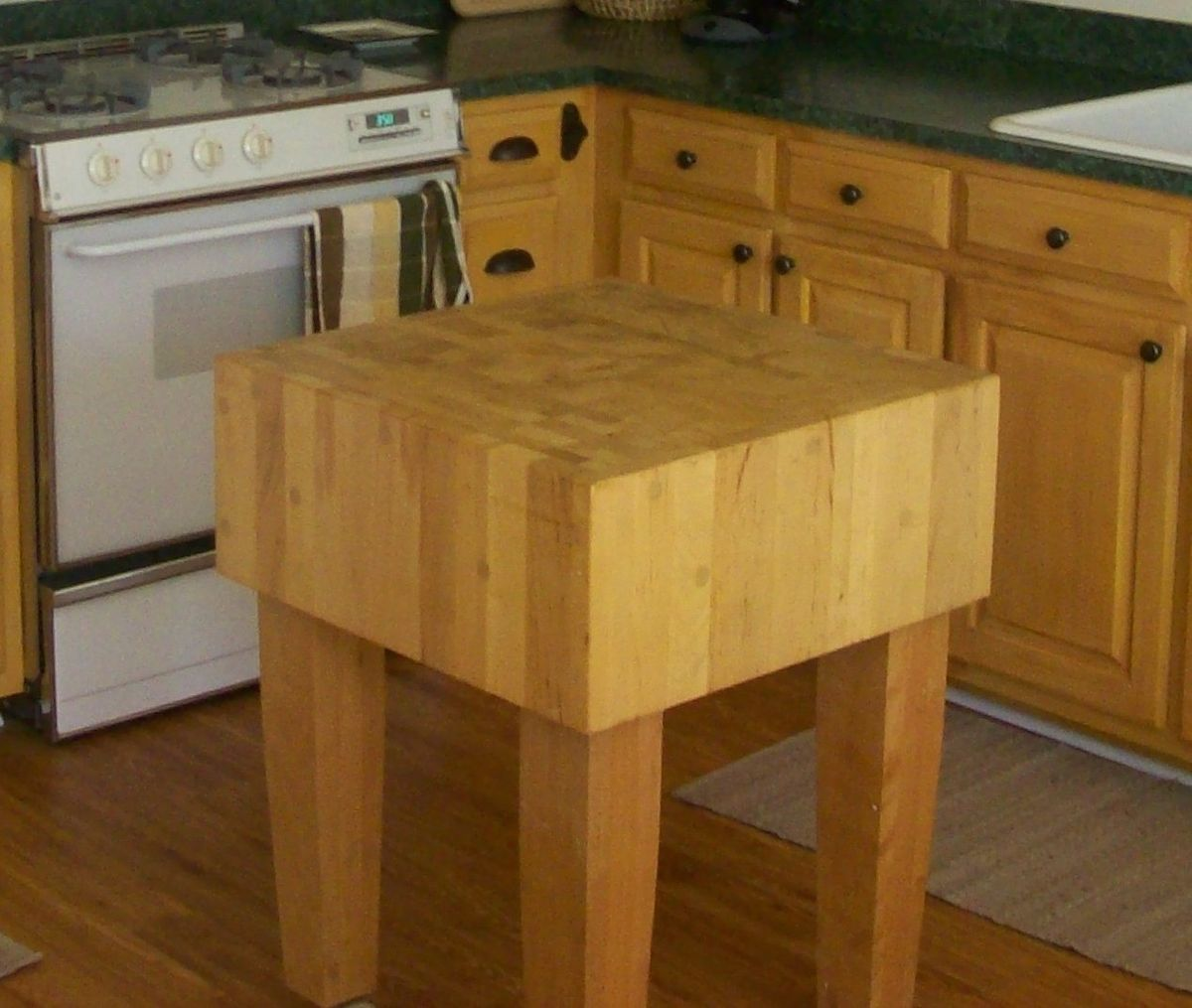 Butcher block butcher block kitchen table