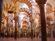Mosque in Cordoba, Spain (inside)