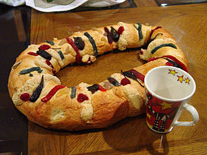 Mexican king cake