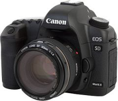 Canon EOS 5D Mark II camera, with Canon EF 50m...