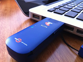 English: Telstra Elite Mobile Broadband USB 21mbit