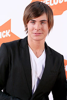 Zac Efron   Wikipedia Efron at the 2007 Nickelodeon Australian Kids  Choice Awards