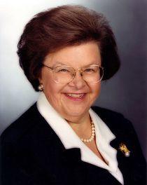 U.S. Senator Barbara Mikulski