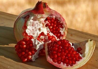 The exquisite pomegranate