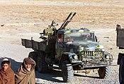 Truck with antiaircraft gun.jpg