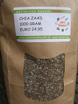 Chia seeds bag