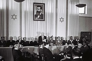 David Ben-Gurion (First Prime Minister of Isra...
