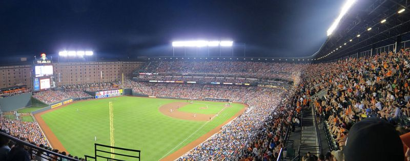 Orioles vs Yankees at Camden Yards