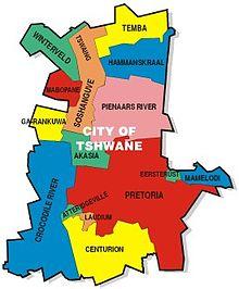 map tshwane