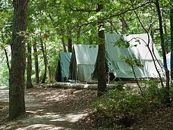 Campsite   Wikipedia Campgrounds edit