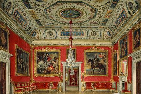 751px buckingham house%2c crimson drawing room%2c by james stephanoff%2c 1817 royal coll 922142 257070 ori 0