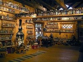 en: Vodka museum in Mandrogi, Leningrad Oblast...