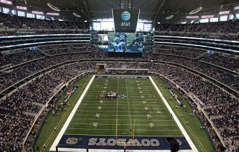 670px Cowboys Stadium field 4 Game Suspension for Molly...Wait, What?