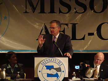 Jay Nixon at the Missouri AFL-CIO State Convention