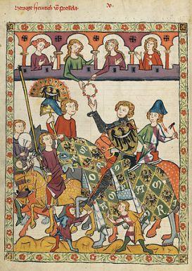 Henryk IV w Codex Manesse