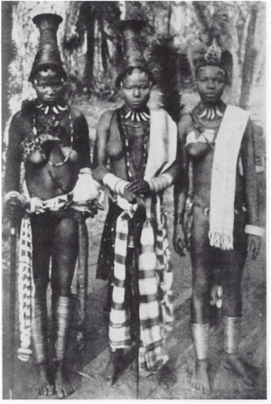 A picture of three Igbo women in the early 20t...