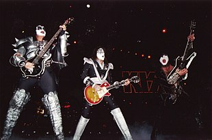 Kiss  band    Wikipedia Kiss performing in Paris on March 21  1999