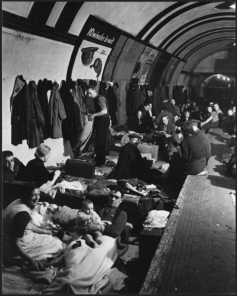 "File:WWII, England, ""West End London Air Raid Shelter"" - NARA - 195768.tif"