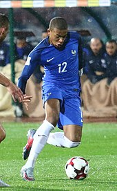 Kylian Mbapp       Wikipedia Mbapp     s movement has been compared to former French star Thierry Henry and  Brazilian forward Ronaldo