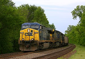 CSX GE Dash 8-40B #5000