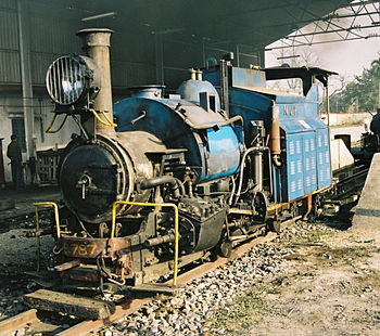 Darjeeling Himalayan Railway Locomotive No.787...