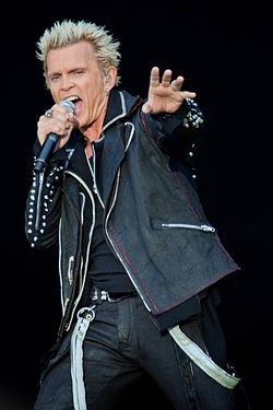 Billy Idol     Wikip    dia Billy Idol